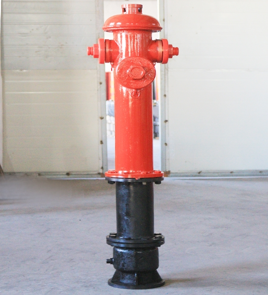 Fire hydrant on the ground